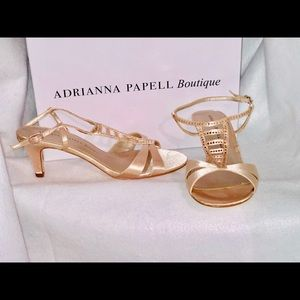 Adrianna Papell Boutique AMBER Evening Heels 7.5